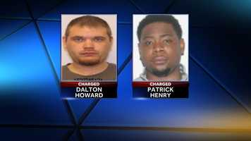 Dalton Howard, Patrick Henry:charged with attempted murder and grand larceny.