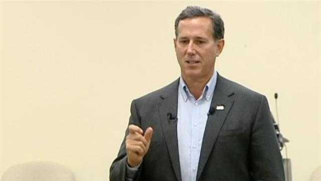 Rick Santorum makes stop in Upstate