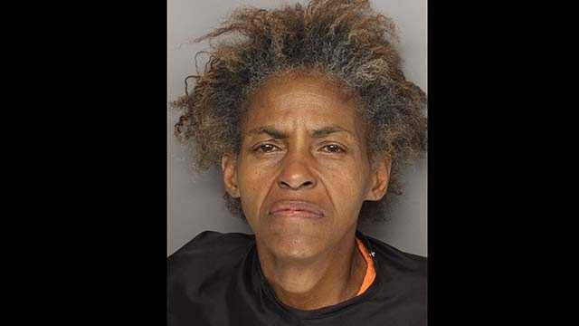 Levonne Collins: accused of pouring kerosene on her sister and threatening to set herself on fire.