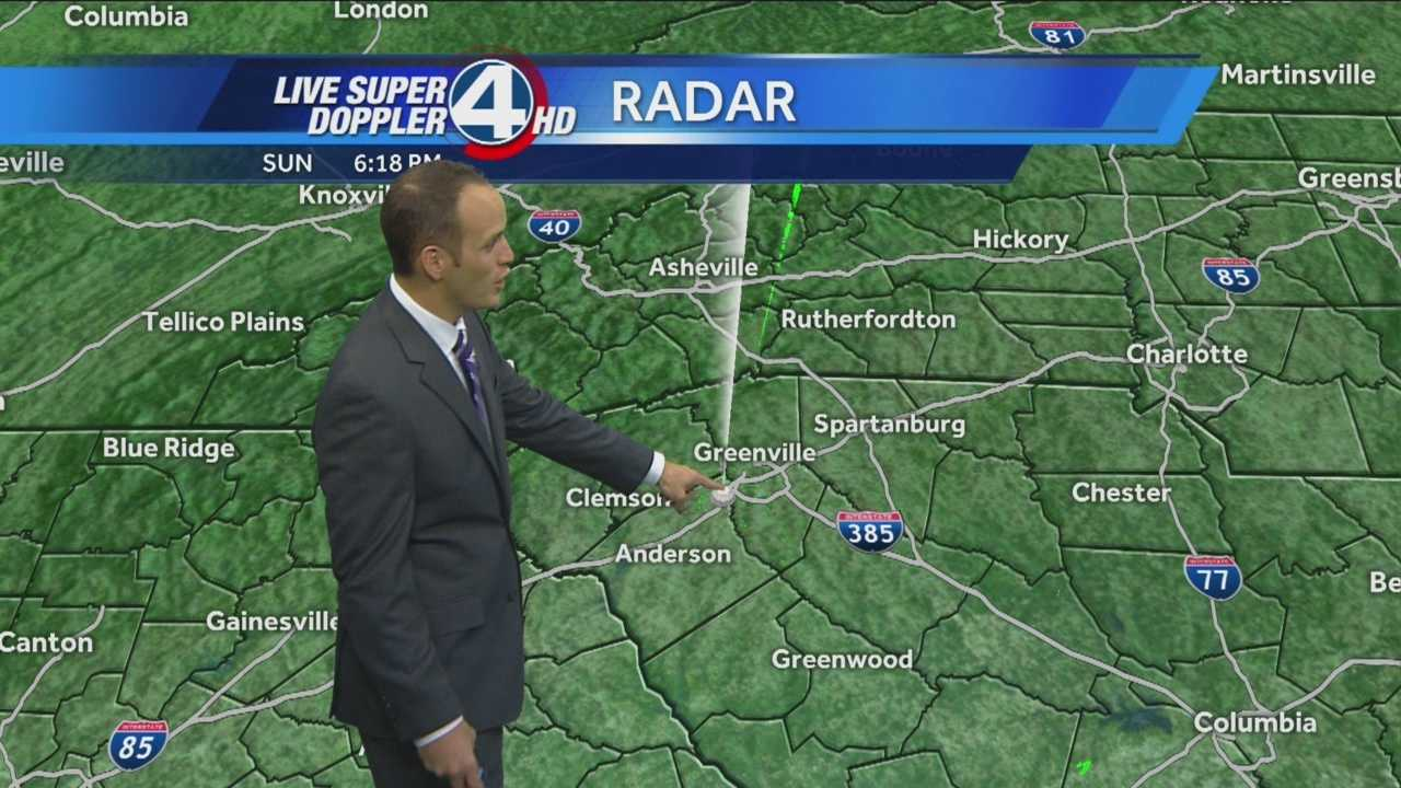 Very dry weather continues for the Upstate and Western North Carolina