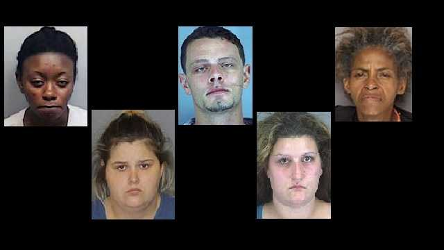 Click to see the mug shots of those arrested or wanted.