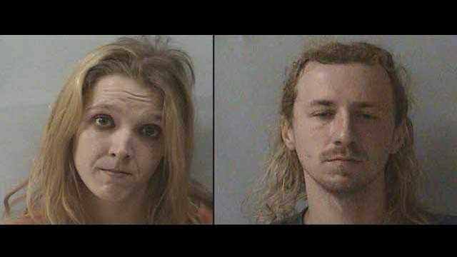 Amanda Jo Johnston and Timothy Alan Buchanan: accused of abusing a 3-month-old
