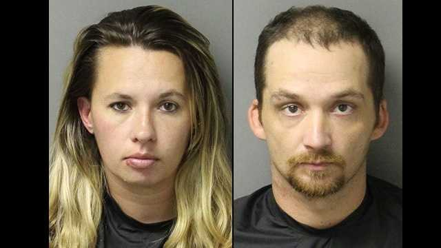 Stephanie Mize, James Underwood: Accused of smoking meth while Mize was pregnant