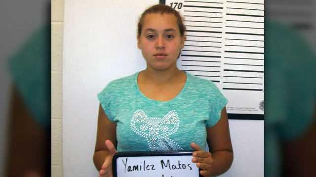 Yamilez Matos: Charged in connection with armed robbery spree