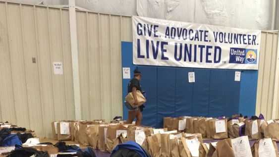Thousands of children will receive free school supplies as part of a giveaway coordinated by the United Way.