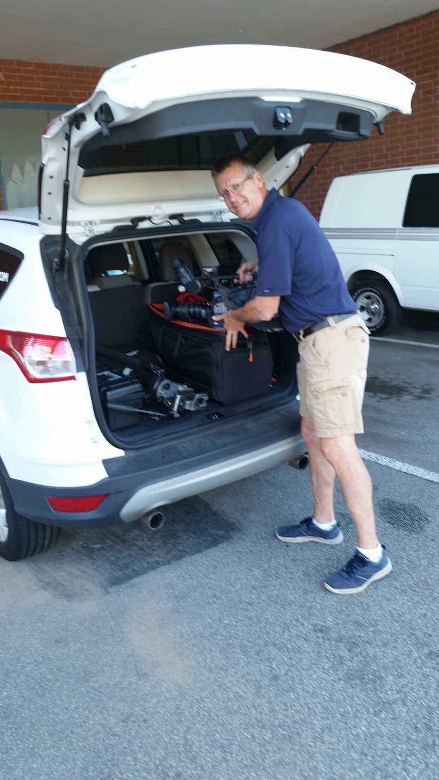 WYFF News 4's John Lyon leaving Thursday to cover the Northwood team in Pennsylvania.