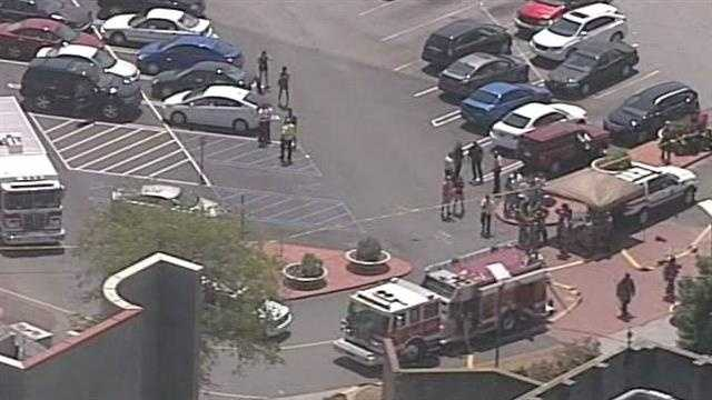 Haywood Mall Food Court Fire