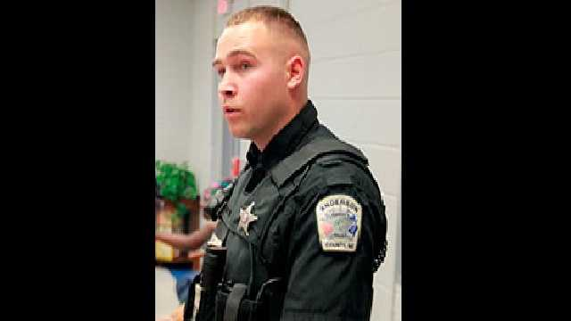 Deputy Shawn Davis&#x3B; Courtesy: The Independent Mail