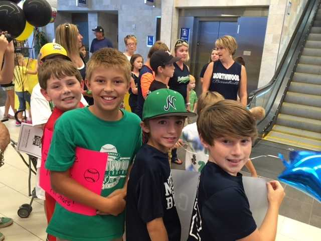 Northwood Little League comes home