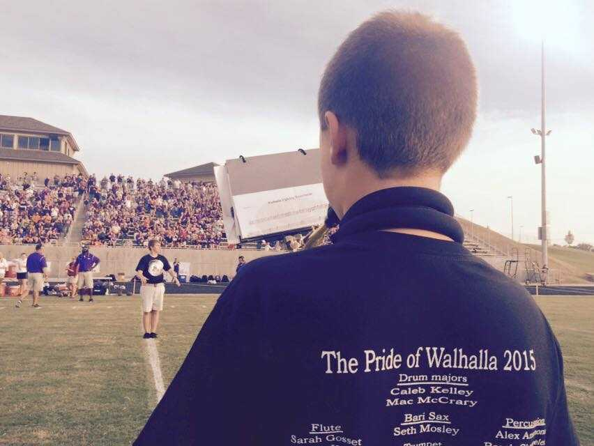 The view from the Walhalla sideline