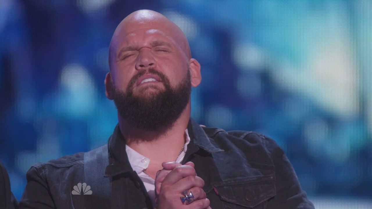 Betnon Blount performs in the semifinals of America's Got Talent
