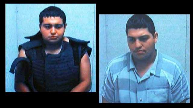 Jesus Arizmendi and Jose Arizmendi: accused of hacking a man to death