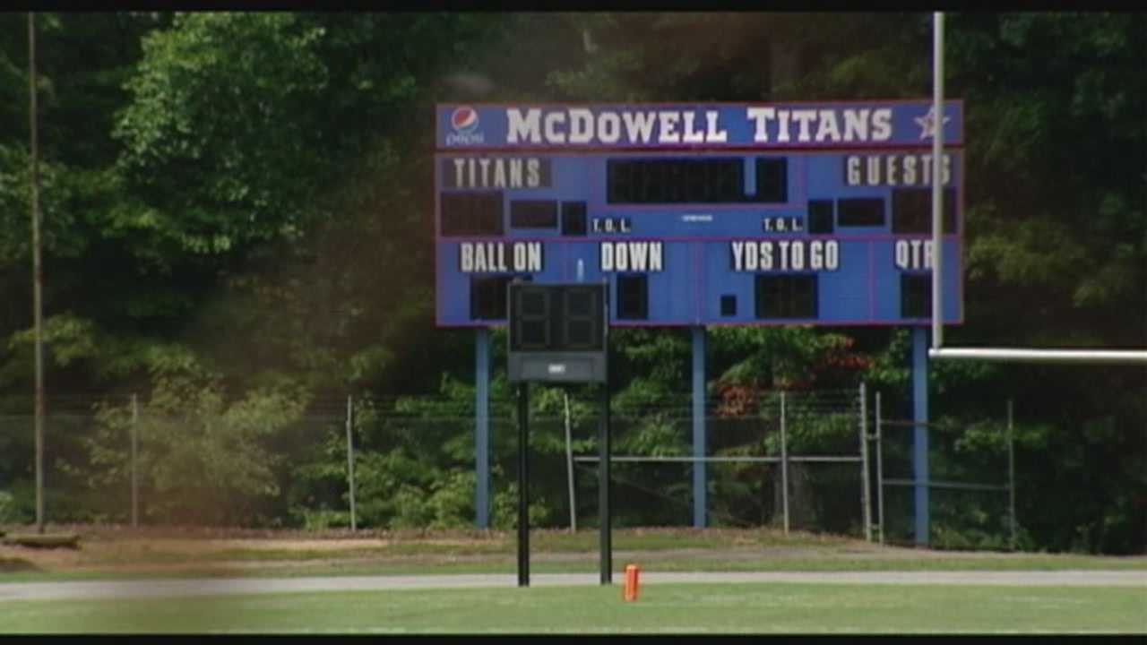 Two teenagers from McDowell High School charged with assaulting a teammate in the locker room