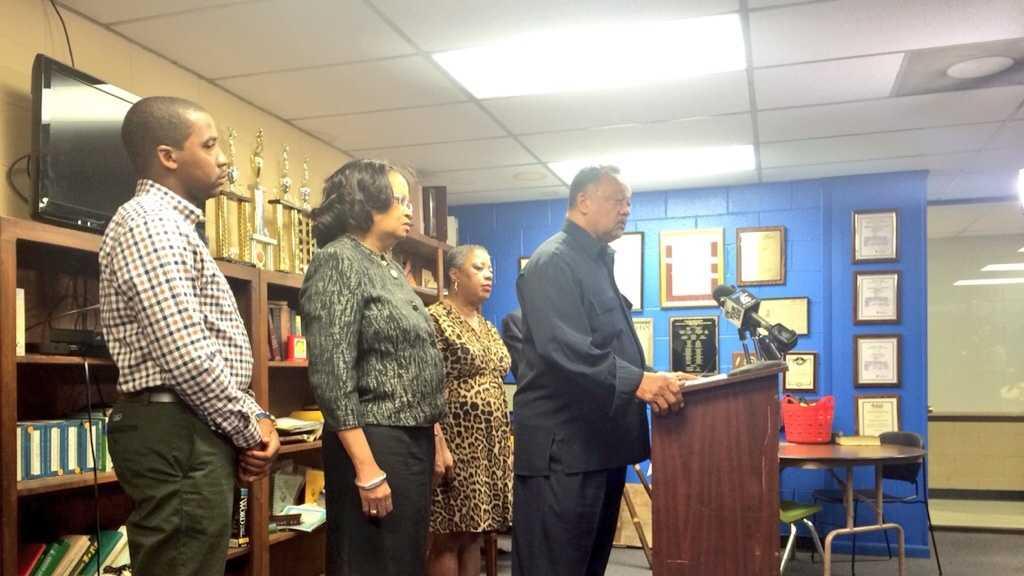 Rev. Jesse Jackson announces Rainbow Push Coalition expansion.
