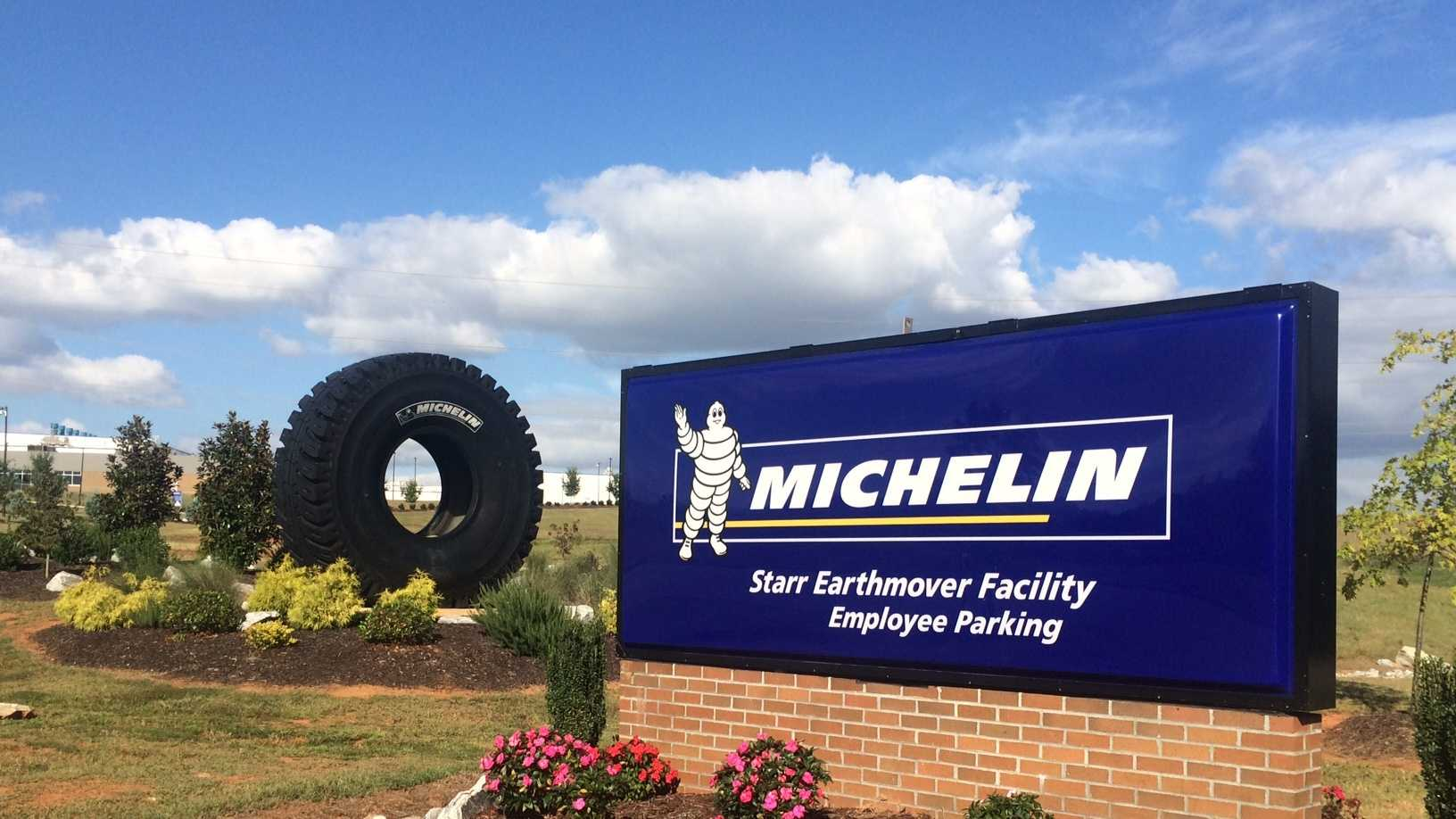 Michelin Earthmover plant in Starr