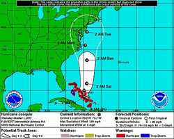 8 a.m. update on Hurricane Joaquin from NOAA