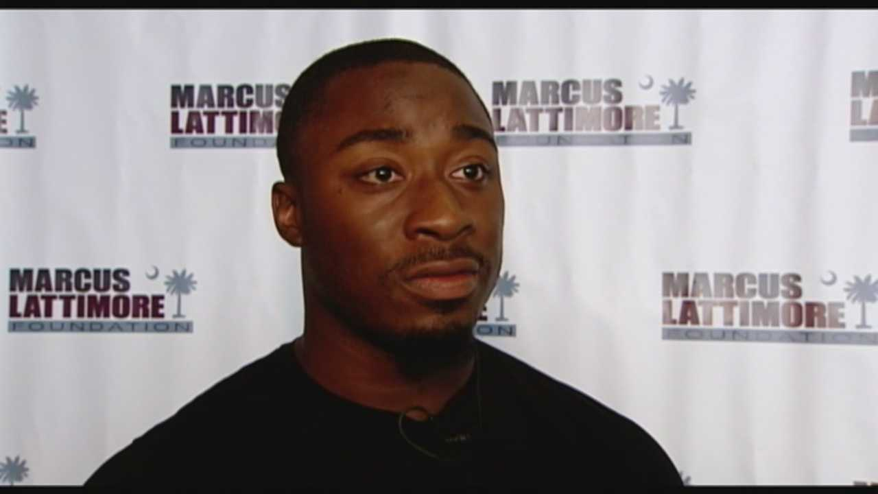 The Marcus Lattimore Foundation holds a leadership academy for high school athletes.