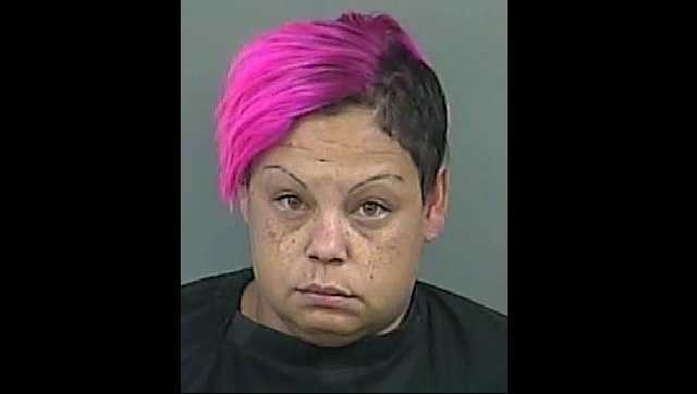 Shemika Parson-Williams: Charged with trafficking in methamphetamine.