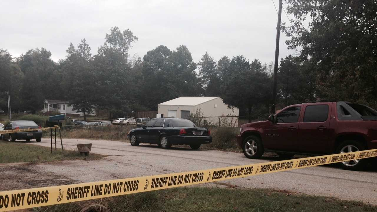 One person was injured and another killed after an exchange of gunfire with Greenville County deputies on Carver Road in Taylors.