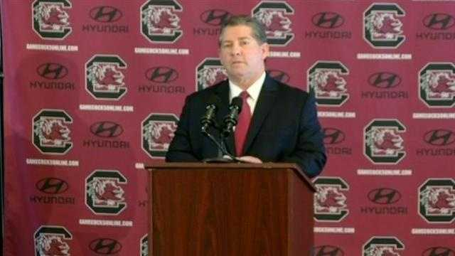 Ray Tanner talks about Steve Spurrier