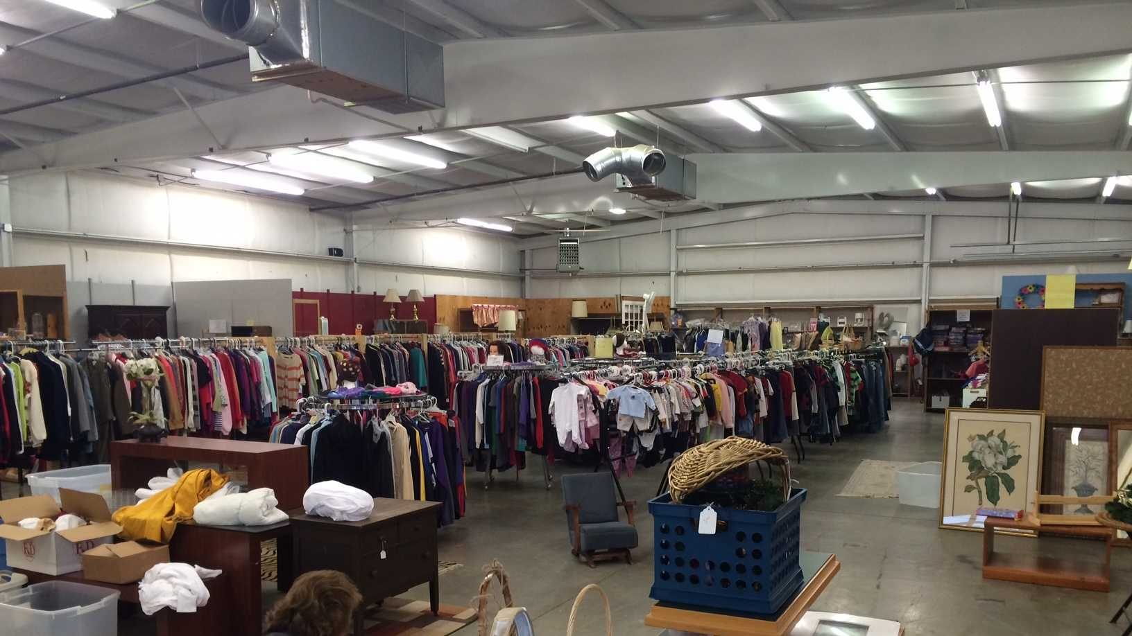Carol's Hope Thrift Store trying to relocate after property was sold.