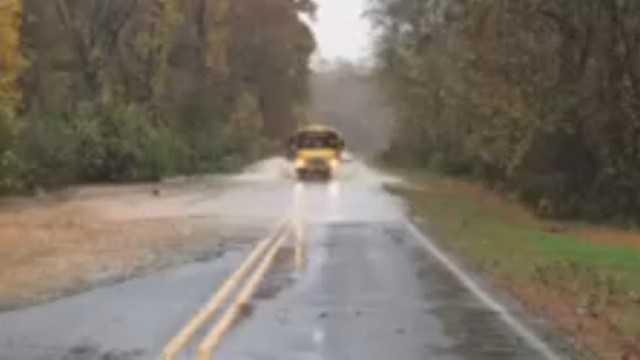 Screenshot of video shot by WBTV
