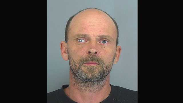 Raymond Blackwell, 43, faces a charge ofinhaling aromatic hydrocarbons.