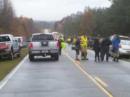 One person is dead and six others injured in a wreck involving a tractor-trailer and several other vehicles, according to Charlie King with Oconee County Emergency Services.