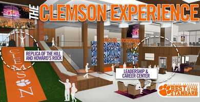 Construction of the new football complex at Clemson University will begin in December with a targeted opening date of February 2017. Here are renderings of the facility.