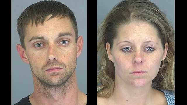 Brandon Terry and Casey Fowler: Accused of unlawful use of 911.