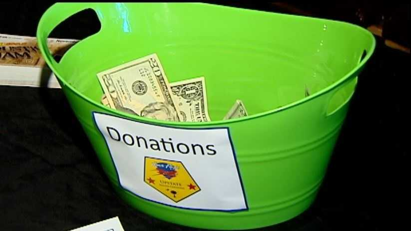 FATZ Cafe collected donations for Honor Flight in more than one way.
