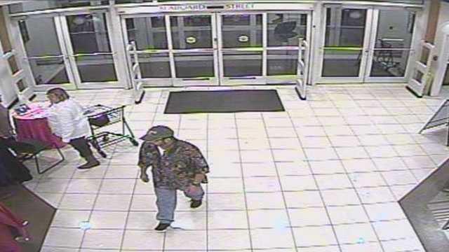 Belk's Store robbery suspect