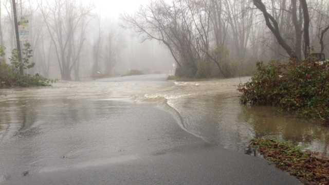Flooding In Hendersonville After Heavy Rain Overnight