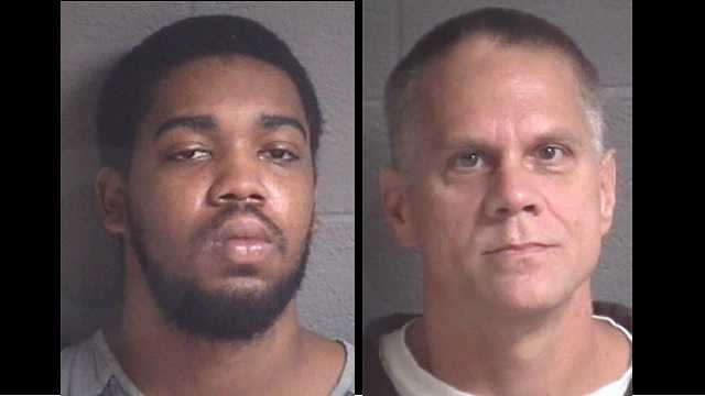 Corey Mapp, Christopher Michelson: Accused of multiple CVS robberies while dresed as women