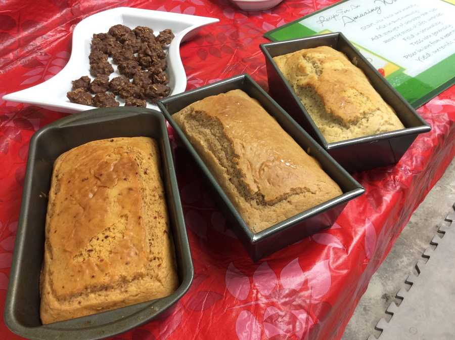 Red pepper chili, Cinnamon and Italian Herb Bread made with Mimi's Mountain Mixes.