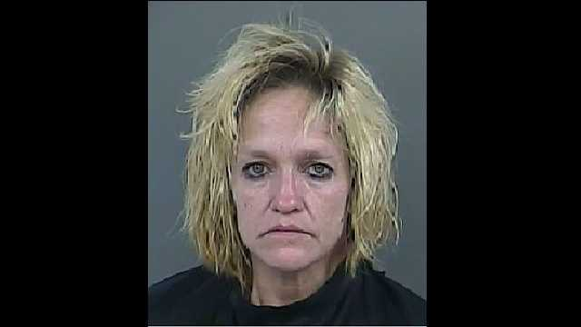 Debra Sheridan: Charged with violation of probation