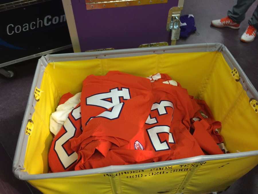 Jerseys packed....