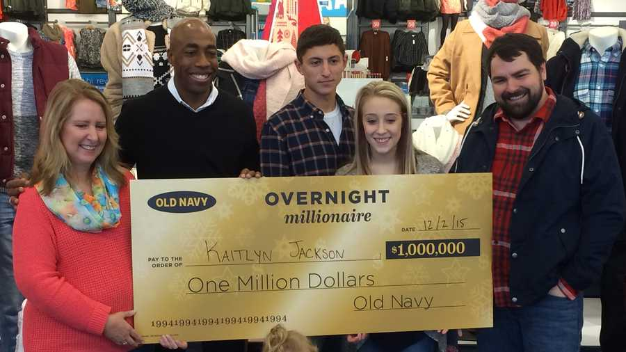 You just need to take a part in Old Navy's Overnight Millionaire Sweepstakes on this black Friday and win $1,,! Limit: Per person only one entry is limited for the sweepstakes. As well, the age of entrant must be 18 years old or older at the time entry.