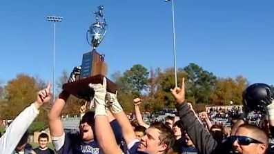 Southside Christian captures their first football state championship.