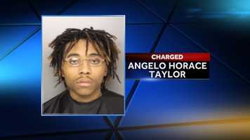 Angelo Taylor: charged with murder