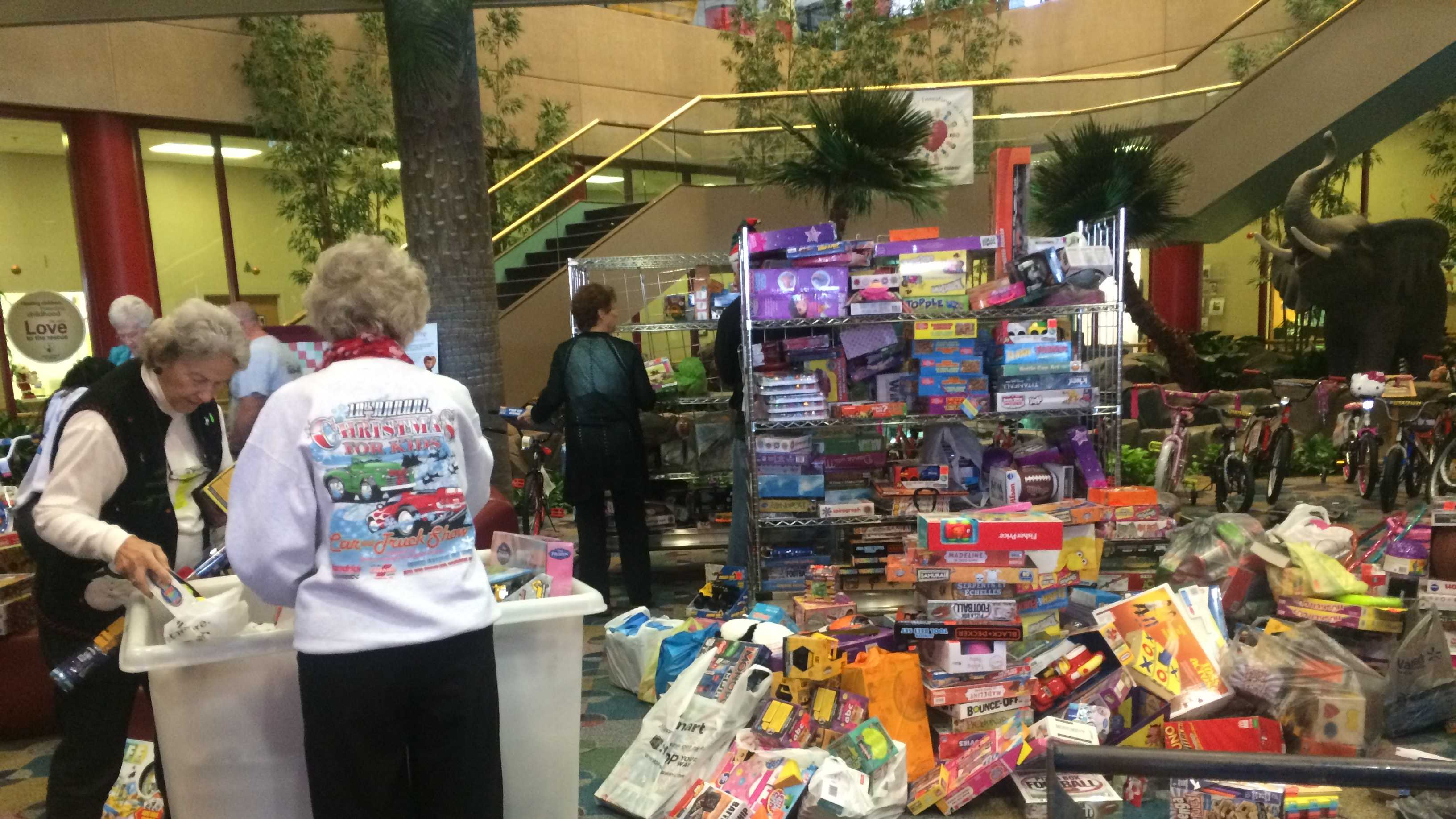 Each year, Shriners receives thousands of toys from the Carolina GM Association