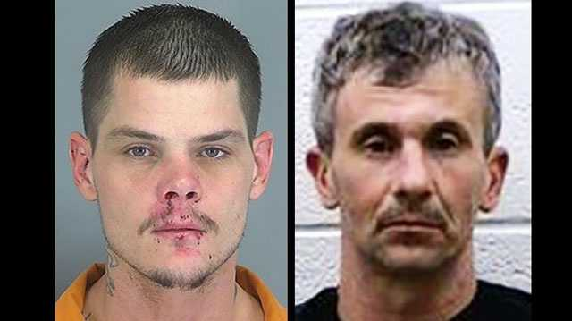 Jay Fletcher and Dusty Jolley: Face multiple charges
