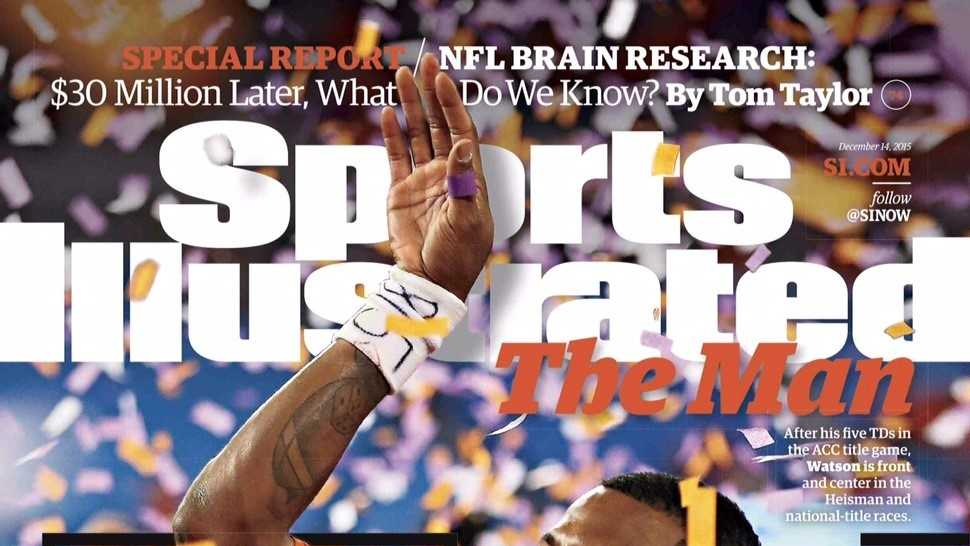 Deshaun Watson featured on the cover of Sports Illustrated