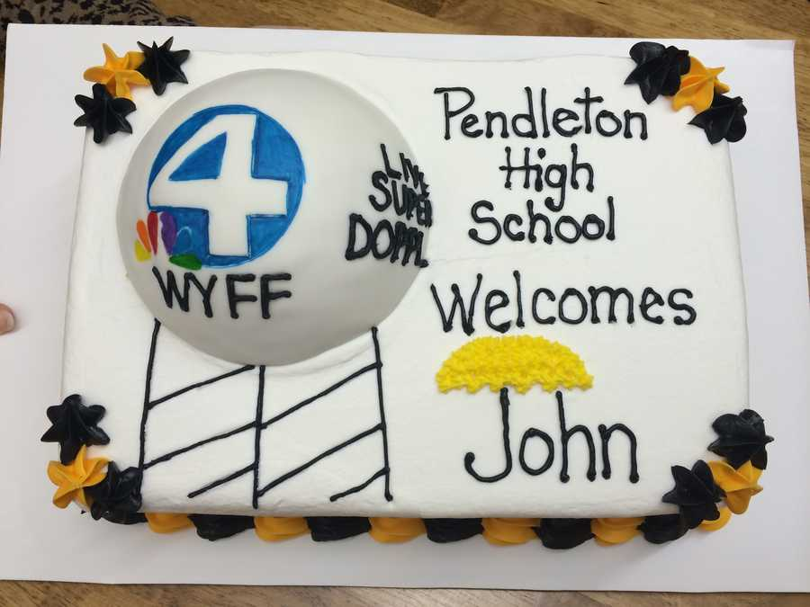 The obligatory John Cessarich cake