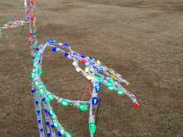 The damage to the decorations could be as high as $5,000, according to Seneca Police Chief John Covington.