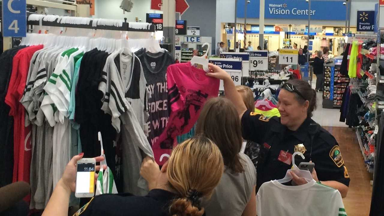 Spartanburg County deputies took 22 children Christmas shopping.