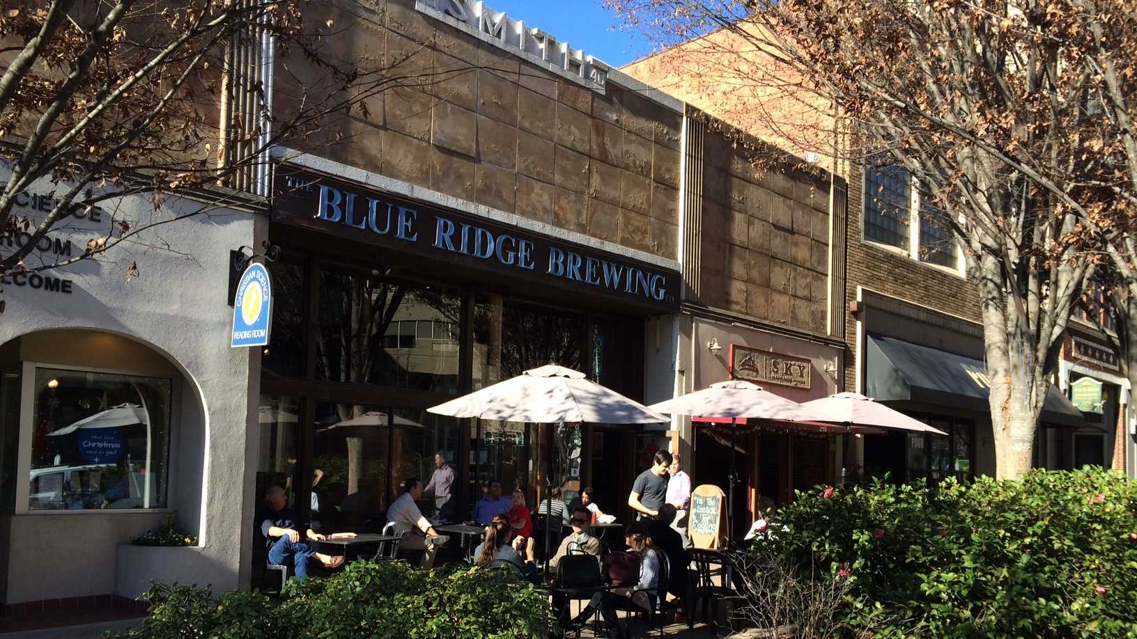 Blue Ridge Brewing Co. on N. Main St. in Greenville