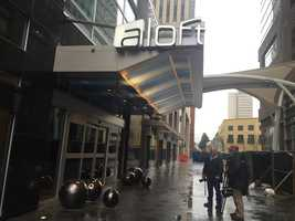 The new Aloft hotel will open in downtown Greenville on Monday.