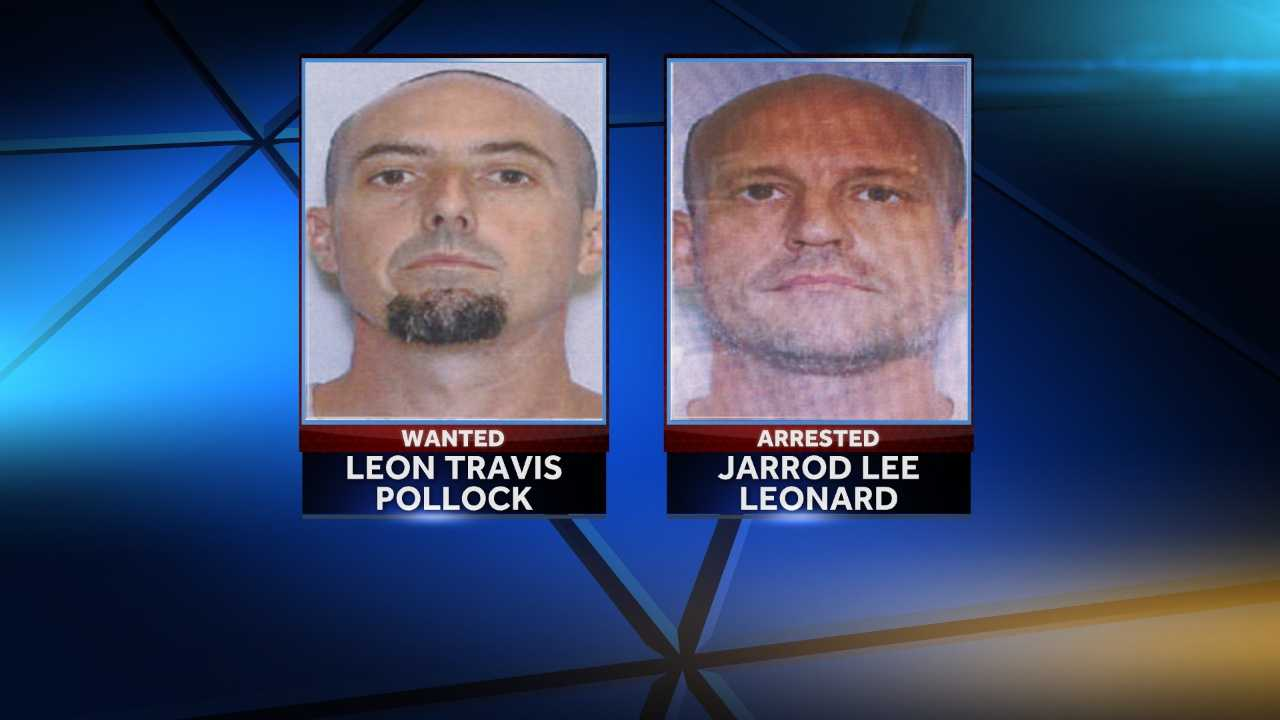 The Simpsonville Police Department need your help finding Leon Travis Pollock.Jarrod Lee Leonard has been arrested. He faces a slew of charges that include six charges of second-degree of burglary.