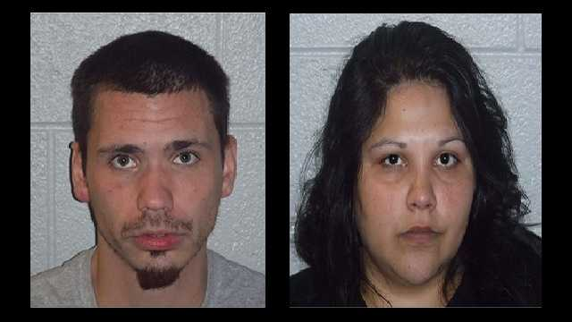 Shawn Lyda Hall and Krystal Julia Hernandez: Charged with accessory after the fact